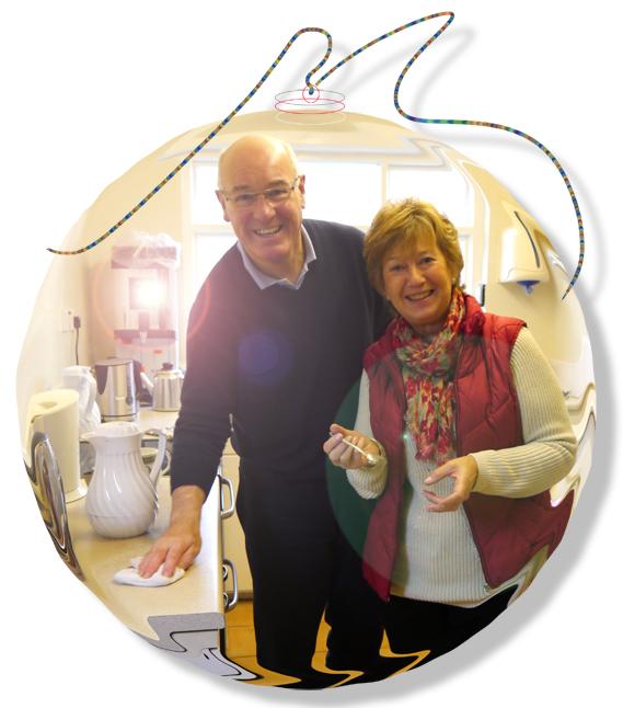 Peter & Barbara bauble