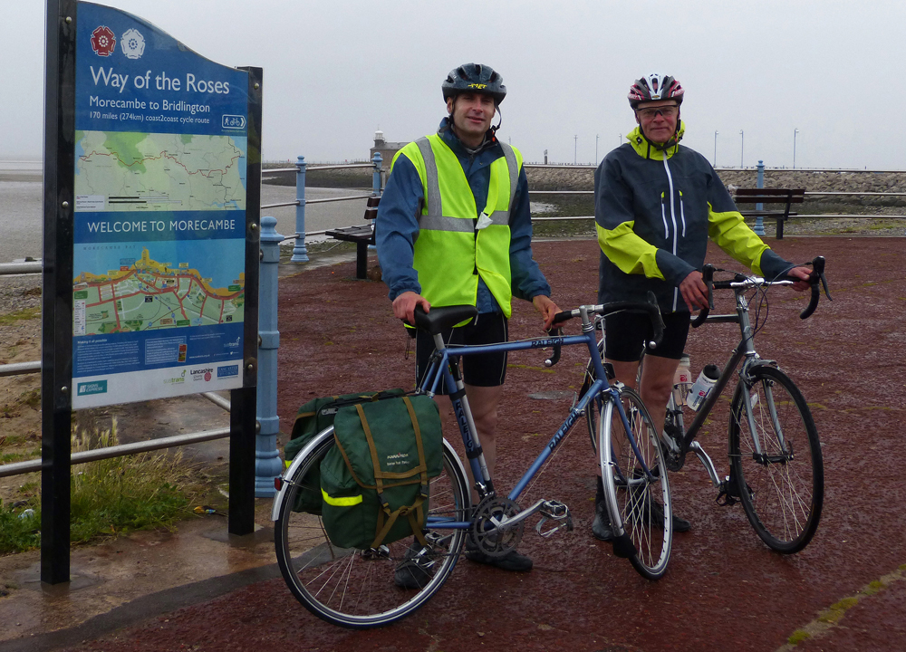 001 (Reduced for email) Wet start Morecambe (near Midland Hotel) 4 August