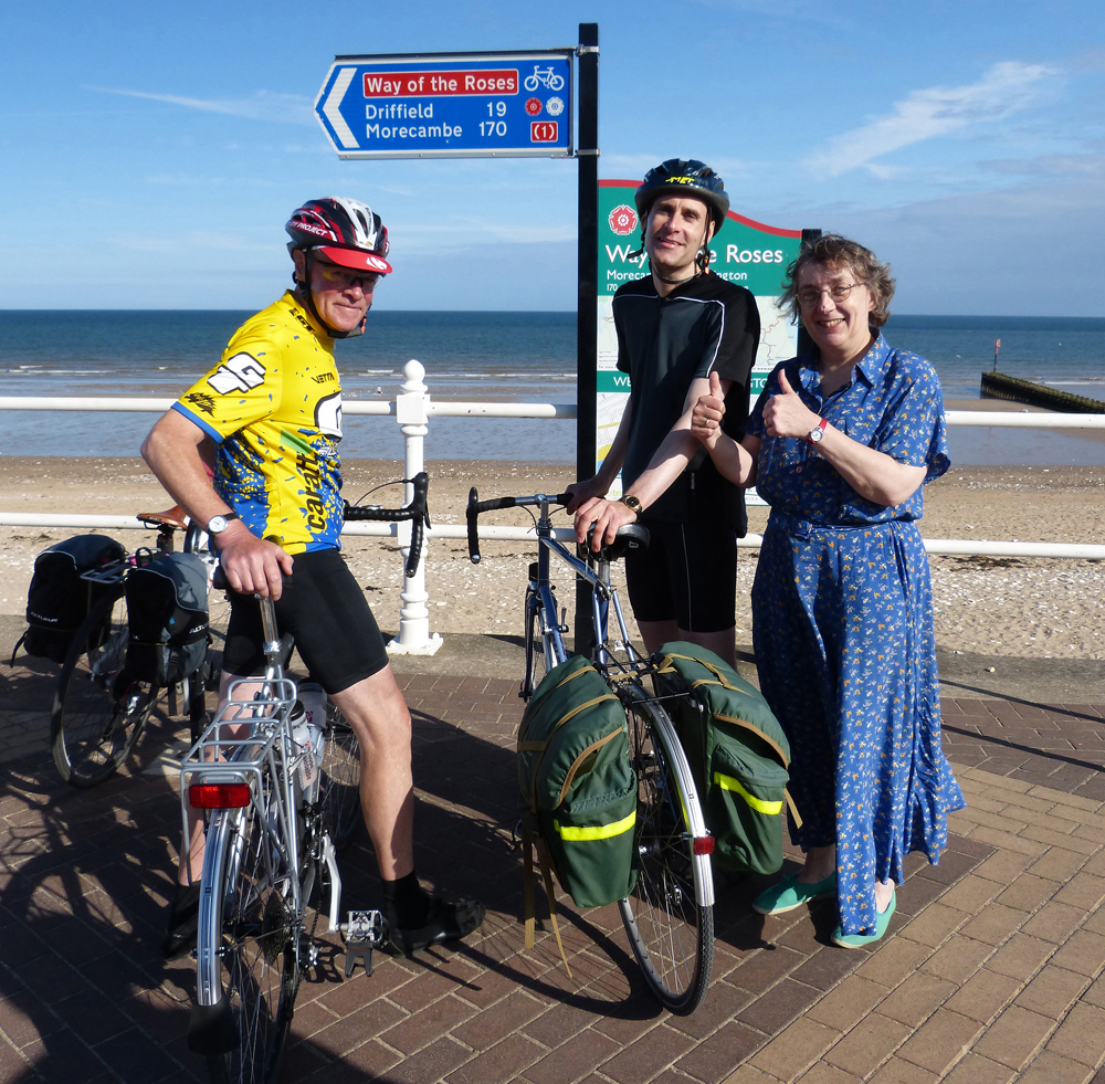 014 BEST ONE TO USE (Reduced for email) Way of the Roses - Journey's End, Bridlington 7 August