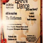 Charity Barn Dance held in a real barn between Wigglesworth & Rathmell - don't miss this!