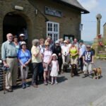 The Village Walk on Saturday June 4th raised £85 for the Reading Room