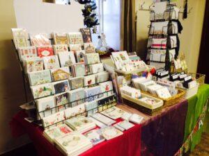 Card stall Xmas Fair2016