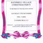 Rathmell Village Christmas Party - get your tickets now!