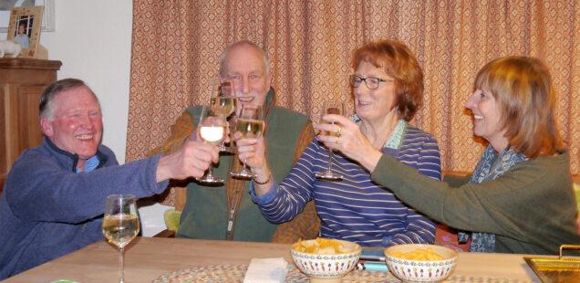 Farewell Lynne and David Wilkinson