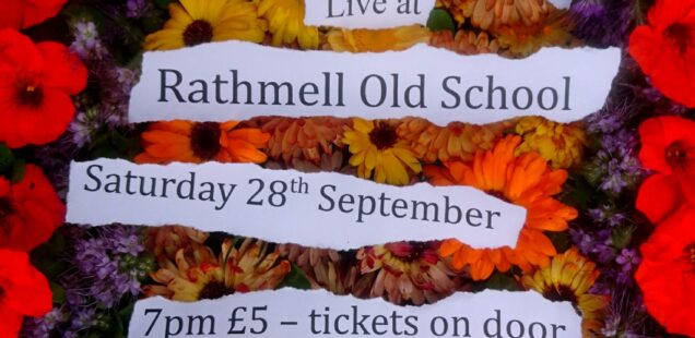 Wilful Missing in concert at Rathmell Old School - Sat 28 Sept 7pm - £5