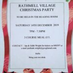 14th Dec 2019 - Rathmell Village Christmas Party at the Reading Room