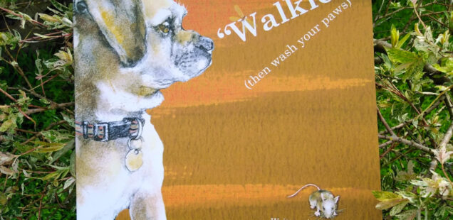 "cover of ""Walkies!"" by Margaret Swift"