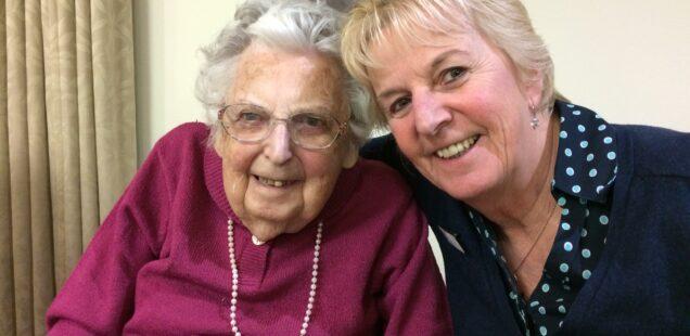 Valerie Rawsthorne's sponsored walk in aid of Dementia UK