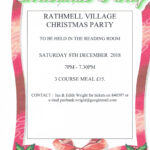 Great Christmas Party - Saturday 8th Dec 7pm